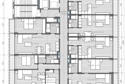Colaboración con imb arquitectos en Proyecto Básico de 72 alojamientos dotacionales en Txurdinaga