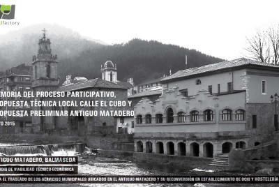 Estudio de Rehabilitación para Antiguo Matadero de Balmaseda en colaboración en Hirifactory