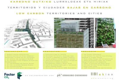 Territorios y Ciudades Bajos en Carbono – colaboración con Factor CO2 y PHPositivo. Stand Congreso ICLEI Bilbao